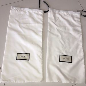 Gucci 2 dust bags for any shoes